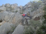 Via Cerrillo 6a+ 450 mts Puig Campana